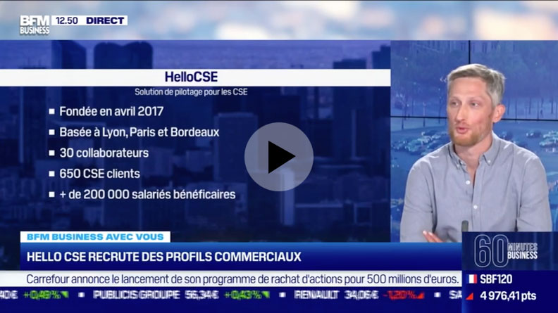 BFM Business - Soixante minutes business | 6 mai 2021 - HelloCSE